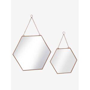 VERTBAUDET Lote de 2 espelhos cobre