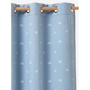 VERTBAUDET Cortina opaca fosforescente azul / branco
