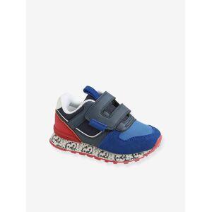 VERTBAUDET Sapatilhas estilo running, para menino, coleção autonomia azul escuro liso