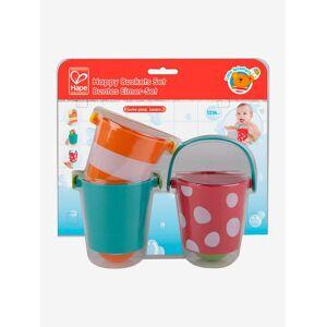 Conjunto de baldes de banho, da HAPE laranja claro bicolor/multicol
