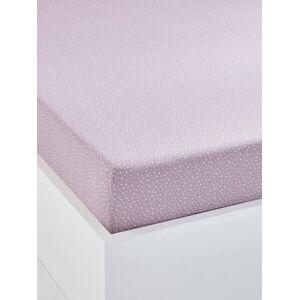 Lençol-capa para criança, tema Pequena fada violeta estampado