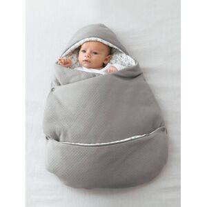 Ninho 2 em 1 transformável, para bebé cinzento