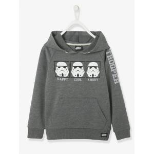 Sweat-shirt com capuz, Star Wars® cinzento escuro mesclado