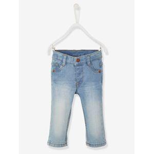 Jeans direitos, para bebé menino ganga bleached