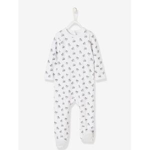 Babygrow Minnie® em veludo, para bebé branco claro estampado