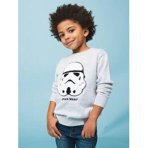 STAR WARS Camisola Star Wars®, em malha cinzento medio mesclado
