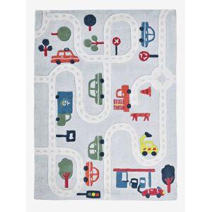 Tapete Circuito de carros cinza / multicolor