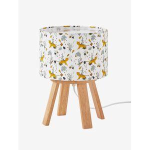 Candeeiro de mesa de cabeceira com pés, Hanói branco claro bicolor/multicolo