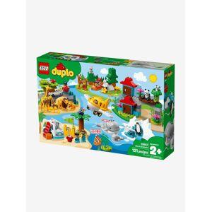 Lego 10907 Animais do mundo Lego Duplo verde medio liso com motivo
