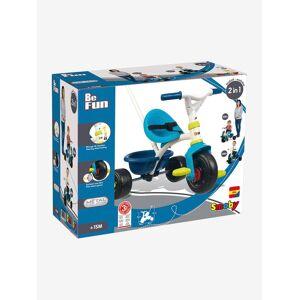 Triciclo Be Fun, da SMOBY azul vivo liso