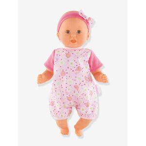 COROLLE Boneca bebé para abraçar, beijinhos & melodia, COROLLE rosa claro estampado