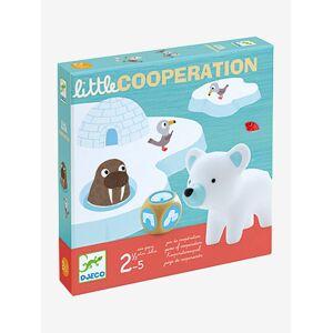 DJECO Little Coopération, da DJECO azul medio liso com motivo