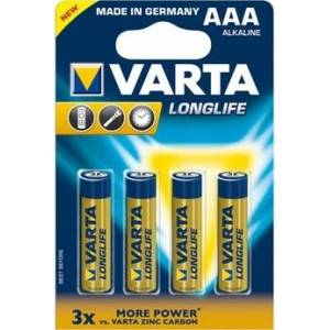 Varta Pilha Longlife Extra LR3 X4 (4103)