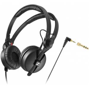 Sennheiser HD-25 Auscultador Áudio profissional Preto