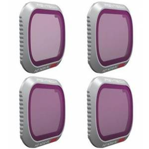 PGYTECH Pack de 4 Filtros para Mavic 2 Pro (ND/PL8-16-32-64)