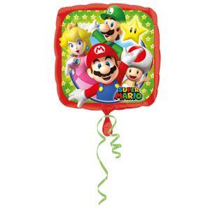 Balão alumínio Super Mario 43 x 43 cm