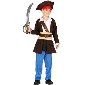 Disfarce capitão dos piratas menino - Taille: 10 a 12 anos (142-148 cm)