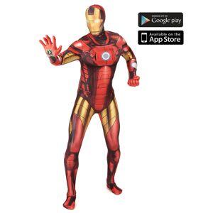 Disfarce Iron Man zapper adulto Morphsuits - XL ( no máximo 190 cm)