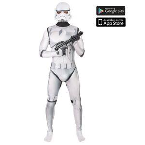 Disfarce Stormtrooper zapper adulto Morphsuits - M (no máximo 160 cm)