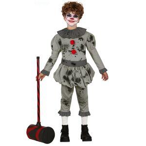 Disfarce palhaço psicopata menino - 3 a 4 anos (95-105 cm)