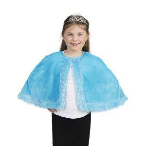 Capa de pelúcia azul menina