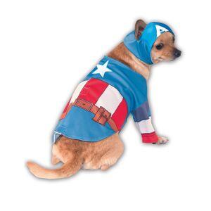 Disfarce para cão de Capitão América - Small