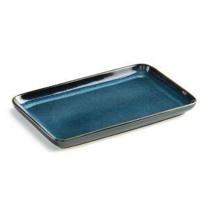 Lote de 4 pratos de sushi, Neta   azul