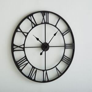 Relógio de parede em metal, Zivos   Castanho