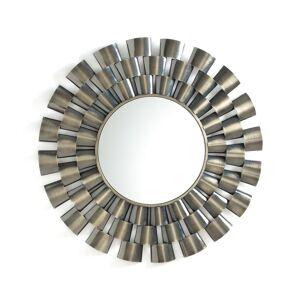Am.pm Espelho em forma de sol, em latão envelhecido, Ø80 cm, Nelwyn   latão envelhecido