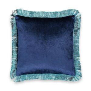 Capa de almofada em veludo, Astana   Azul-Noite