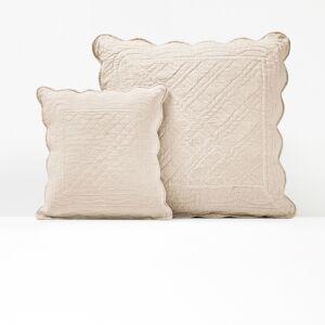 La Redoute Interieurs Capa de almofada acolchoada, em algodão, SCENARIOcru- 65 x 65 cm