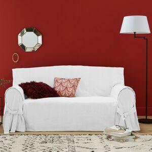 Capa para sofá em linho/algodão, JIMI   Branco