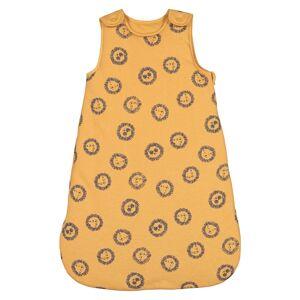 La Redoute Collections Saco de bebé estampado em moletão, 0/6 meses-24/36 mesesAmarelo- 0/6 meses (50/67 cm)