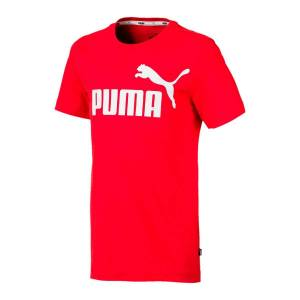 Puma T-shirt, 8 - 16 anosVermelho- 14 anos (162 cm)