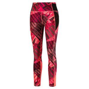 Puma Leggings de desporto 7/8 estampados, cintura subida   rosa