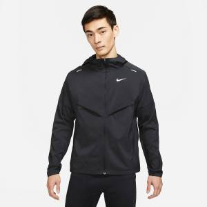 Nike Corta-vento Fundamentals   Preto