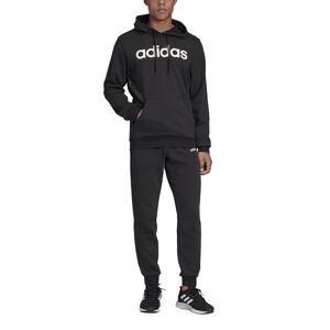 Adidas Performance Fato de treino com capuz, LinearPreto- M