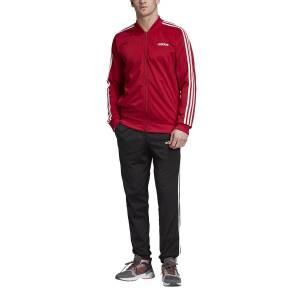 Adidas Performance Fato de treino de gola subida, Back 2 Basicsbordeaux/preto- L