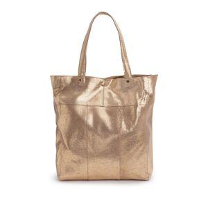 Pieces Carteira shopper, Brandy   Dourado
