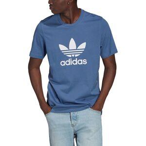 Adidas Originals T-shirt de mangas curtas, logótipo trefoil   azul