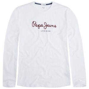Pepe Jeans Camisola de mangas compridas, Eggo Long   Branco