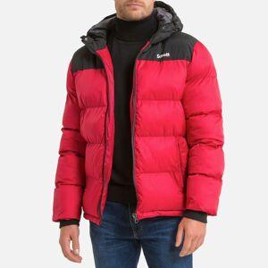Schott Blusão bicolor com capuz, Utah 2   Vermelho