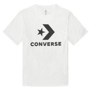 Converse T-shirt Star Chevron   Branco