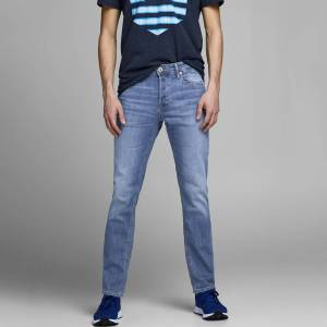 Jack & Jones Jeans slim stretch, Jjiglenn   Azul-Claro