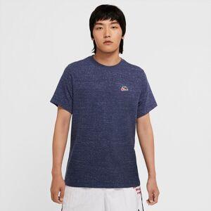 Nike T-shirt Heritage, logótipo pequeno   Marinho