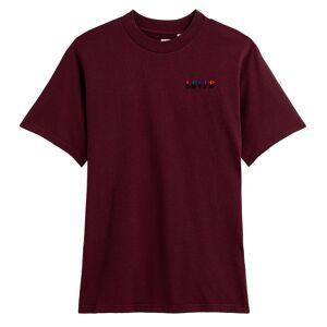 Levi's T-shirt com logótipo, Small Serif   bordeaux