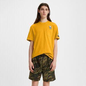 Levi's T-shirt Soccer Snoopy Levi's® X PEANUTS™   Amarelo
