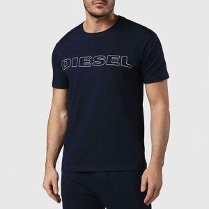Diesel T-shirt de gola redonda, mangas curtas   Marinho