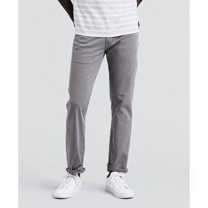 Levi's Calças em tecido de algodão stretch, corte 511 slim   Cinzento