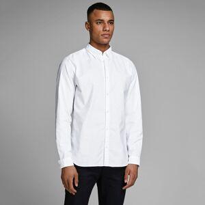 Jack & Jones Camisa slim stretch, Jprlogo   Branco